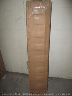 "Classic brands 12"" cool gel memory foam and innerspring mattress, queen size"