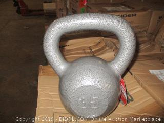 Weider 35 lb kettleball