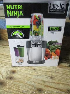 Nutri Ninja blender - powers on