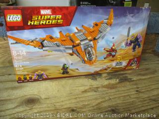 LEGO Marvel Super Heroes Thanos: Ultimate Battle toy set