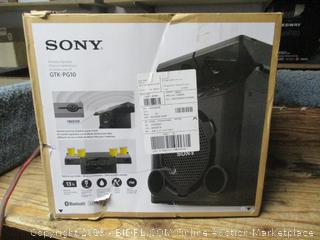 Sony wireless speaker -- powers on, damaged