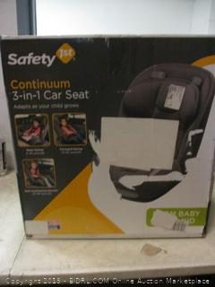 Safety 1st continuum 3-in-1 carseat