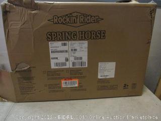 Rockin' Rider spring horse