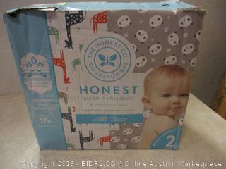 honest gentle + absorbent diapers