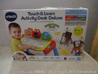 Vtech touch & learn activity desk deluxe interactive learning system