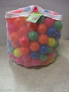 ball pit multicolor balls