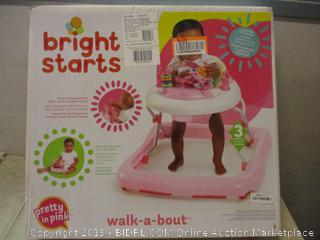 Bright starts walk-a-bout electronic toy station