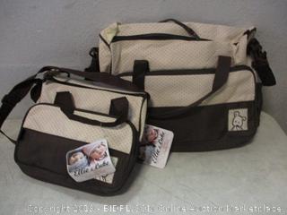 Ellie&Luke baby bag items - dusty