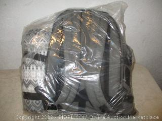 backpack and blanket item