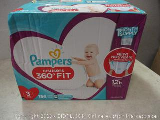 pampers cruisers 360* fit diapers