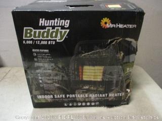 Hunting Buddy Mr Heater indoor safe portable radiant heater - box damage