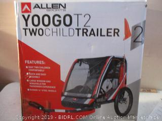 Two Child Trailer