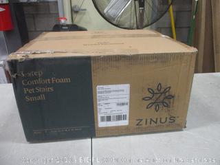 Zinus 3 Step Comfort Foam Pet Stairs Small