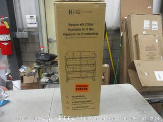 Organizer with 12 bins