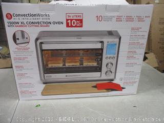 Convection Oven with Bamboo Cutting Board