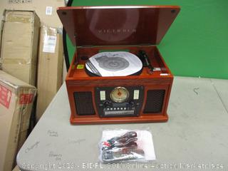 Victrola Truntable Powers On See Pictures in box
