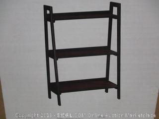 Three Shelf Bookcase  Factory Sealed