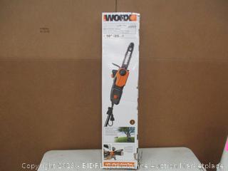 """Worx 2 in 1 10"""" Pole Saw/Chain Saw"""