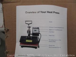 Heat Press Factory Sealed