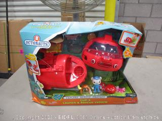 Octonauts Cup-X Launch & Rescue Vehicle
