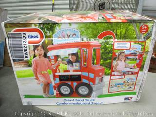 Little Tikes 2 in 1 Food Truck