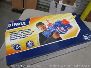 Dimple Rapid Rotating Barrel Attack Blaster