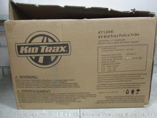 Kid Trax 6V Police Trike factory sealed