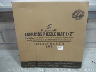 "Exercise Puzzle Mat 1/2"""