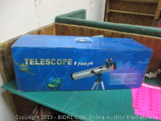Astronomical Telescope  Factory Sealed