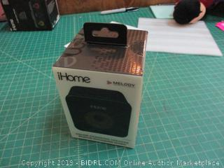 iHome Melody Color Changing Speaker Bluetooth Rechargeable Speaker Factory Sealed