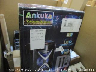 Ankuka Karaoke Machine LED Speaker Lights