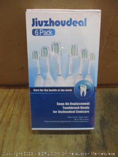 Jiuzhoudeal Snap on replacement brushes head