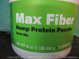 Max Fiber Hemp Protein Powder