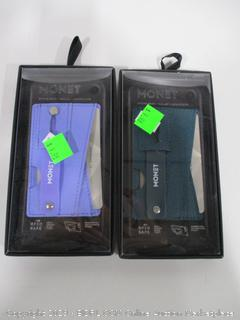 Monet Phone Grip Wallet Lot