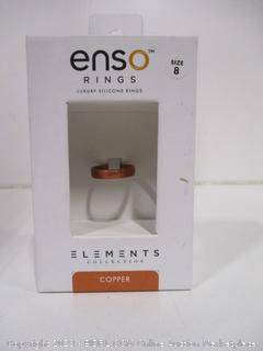 Enso Elements Ring Size 8