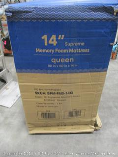 Best Price Mattress 14 inch Supreme Memory Foam Queen