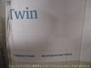 Zinus 5in Bio-Fusion Memory Foam Mattress Twin Size