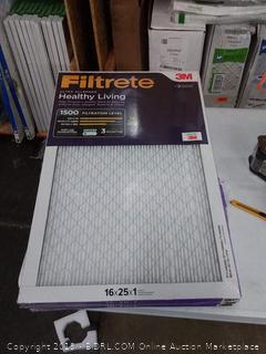 Filtrete Ultra allergen 16 x 25 x 1 filters 5 pack