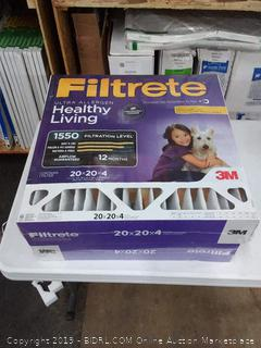 Filtrete Ultra allergen 20×20×4 filters 2 pack