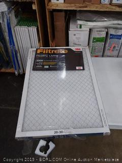 Filtrete Elite allergen 20 X 30 X 1 filters to pack
