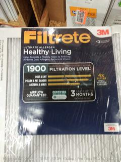 filtrate ultimate allergen 14 x 30 x 1filters 2 pack