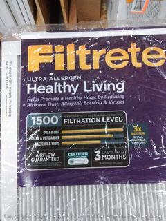 Filtrete Ultra allergen 18 x 24 x 1 filter