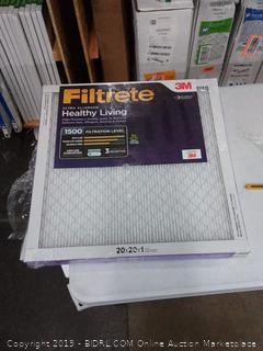 Filtrete Ultra allergen 20 x 20 x 1 filter 3 pack