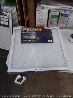 Filtrete Ultra allergen 24 x 24 x 1 filters 2 pack