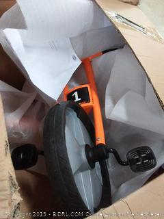 Childcraft EasyRider Tricycle, 7-1/2 Inch Seat Height, orange