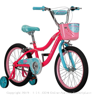 Schwinn 18 inch pink child's bike (Online $134)