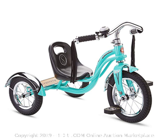 Schwinn S6837AZ Roadster Tricycle Wheel Size Trike Kids Bike