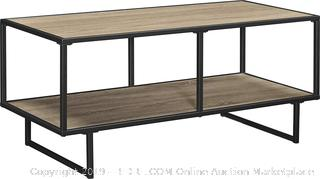 "Ameriwood Home Emmett TV Stand/Coffee Table for TVs up to 42"" wide, Weathered Oak"