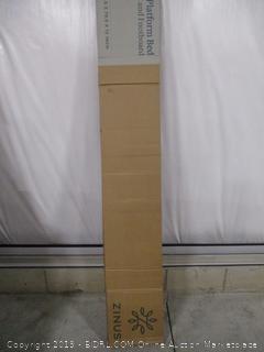 """Zinus 12"""" Metal Platform Bed With Headboard And Footboard Queen"""
