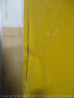 "Sandusky Lee SC450F Yellow Steel Safety Cabinet for Flammable Liquids, 2 Shelves, 2 Door Manual Close, 45 Gallon Capacity, 65"" Height x 43"" Width x 18"" Depth"